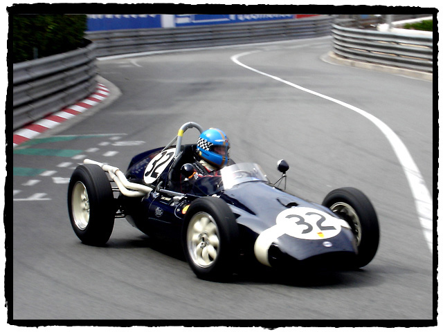 Nick Wigley (GB) in Adrien van der Kroft's 1959 Cooper T51.