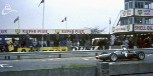 BRM Goodwood March 1964 Driver not identified