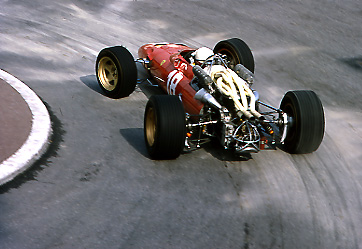 Lorenzo Bandini, Ferrari, Monaco GP 1967 