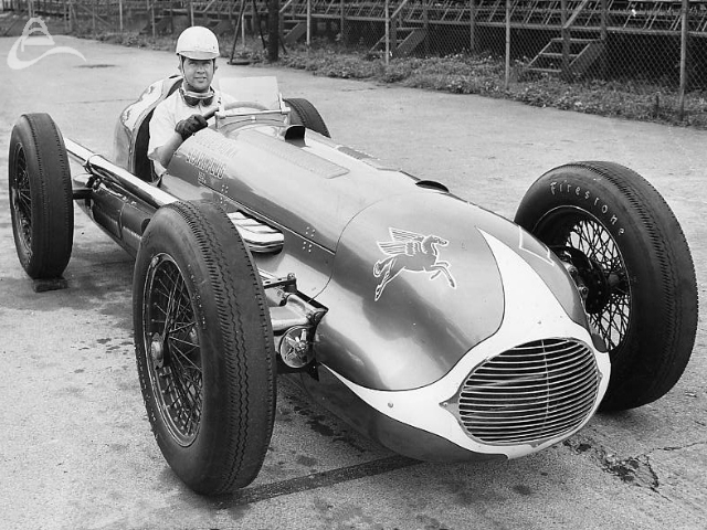 1949 Indy 500 winner, Bill Holland. (Photographer Unknown)
