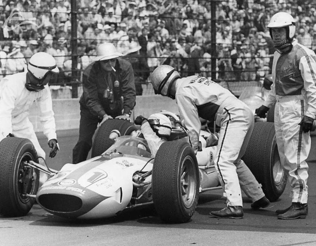 ...little help? Bobby Marshman, 1964? (Johnson)