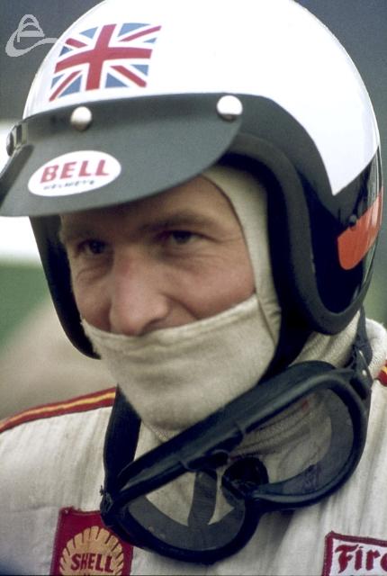 Brian Redman at Silverstone 1969.