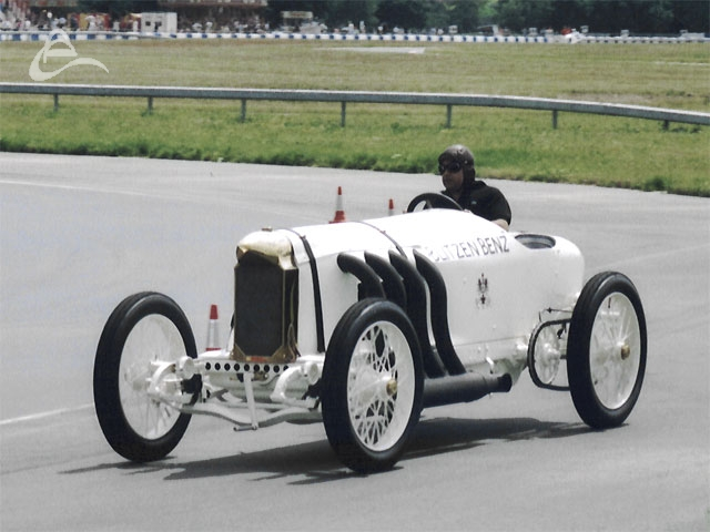 The Blitzen Benz 1908 Grand Prix car broke a number of land speed records including setting the World Land Speed record at Brooklands in 1909 driven by Victor Hemery.