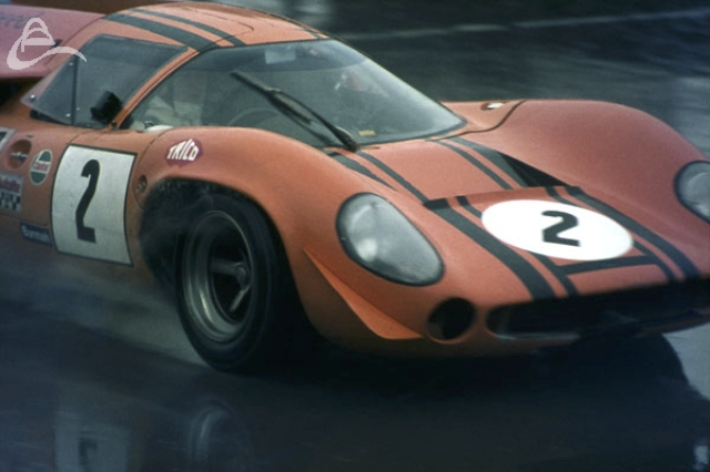 Chris Craft Tech Speed Lola T70 Silverstone Martini Int 1969.