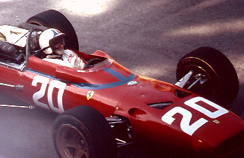Chris Amon, Ferrari, 1967 Monaco GP 