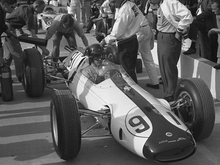 Dan Gurney Lotus, 1963. (Johnson)