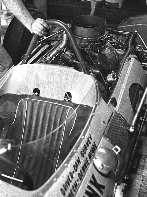 A Dan Gurney rig, 1962. (Johnson)