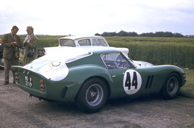 David Piper's Ferrari GTO Silverstone July 1963