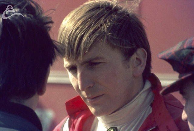 Derek Bell racing Ferrari at Silverstone 30th March 1969