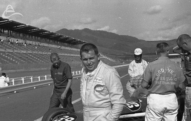 Fuji, 1966. Jim Hurtubise. (Johnson)