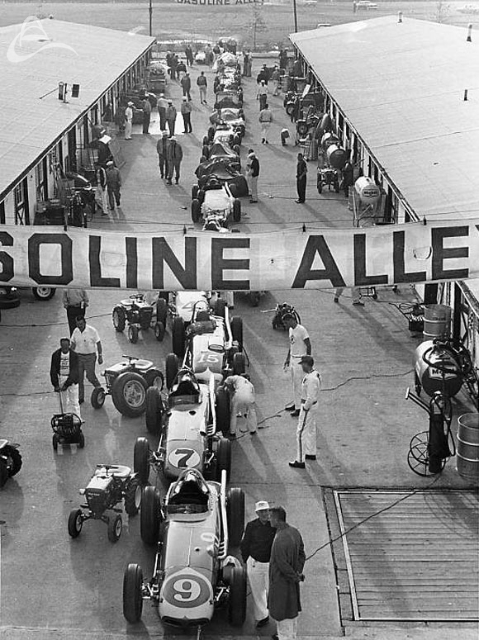 Gasoline Alley, 1962 (Johnson)