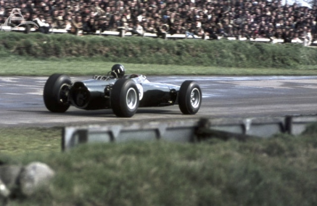 Graham Hill BRM Goodwood 1964.