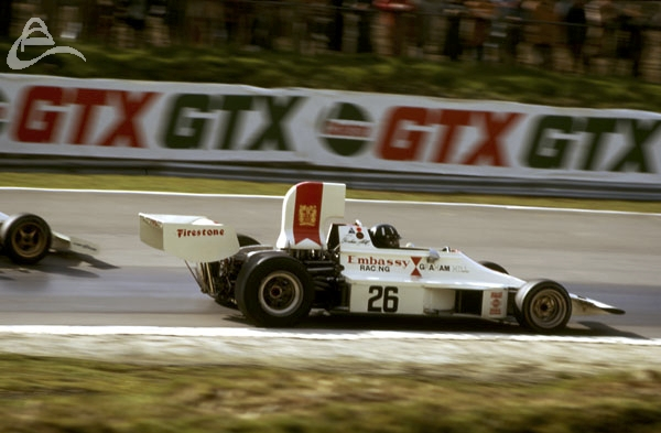Graham Hill Embassy Racing F1 Brands Hatch.