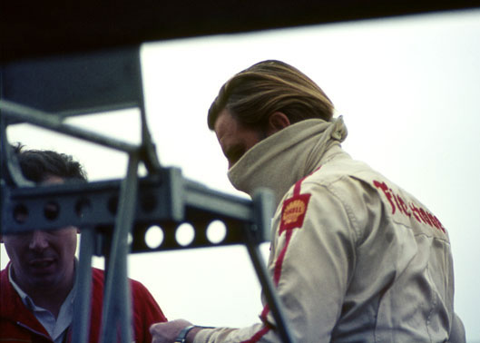 Graham Hill Silverstone 1969.