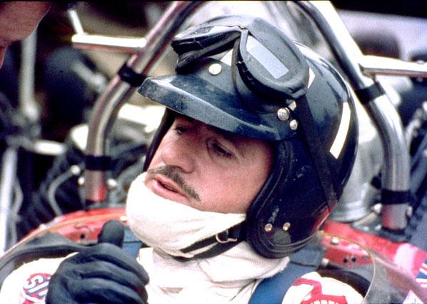 Graham Hill Silverstone 1969. Photograph © Roger Lane