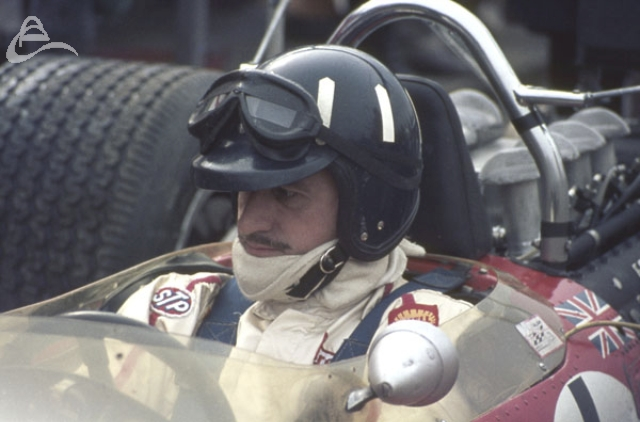 Graham Hill Gold Leaf Team Lotus.