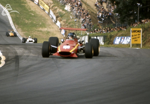 Jackie Ickx Ferrari Brands Hatch July 1968