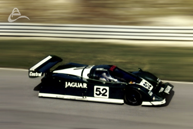 TWR Jaguar XJR-6 (285) driven by Hans Heyer and Jan Lammers retired on lap 77 with mechanical failure.