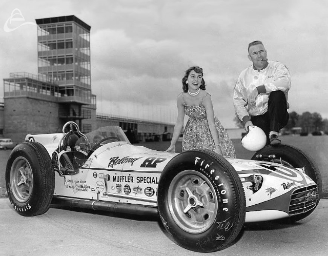 Jimmy Bryan Indy 1959 (Indpls. Times)