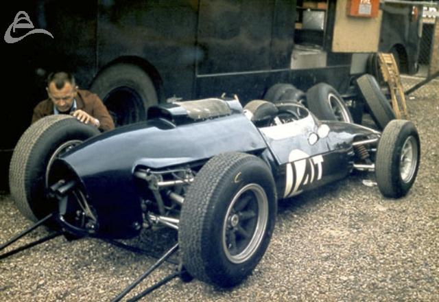 Jo Bonnier Cooper Climax 1963