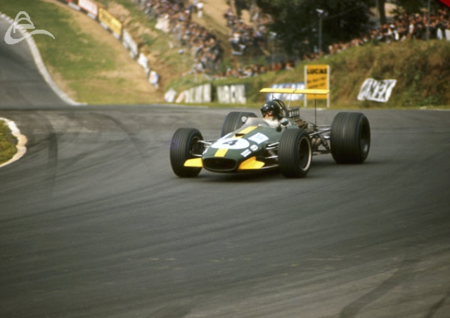 Jochen Rindt Brabham Repco F1 Brands Hatch 20th July 1968