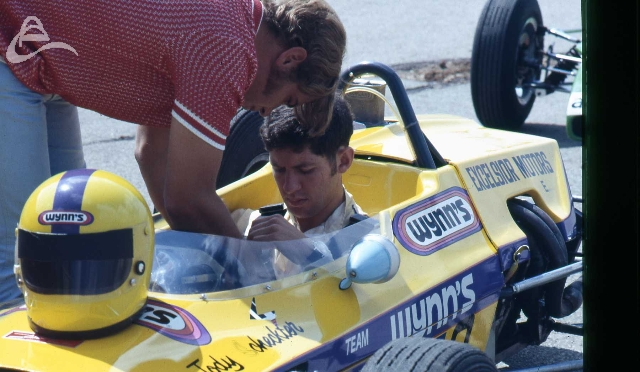 Jody Scheckter FF Lola SA Sunshine Series. His win got him a ticket to race in Europe.