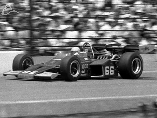 1972 winner, Mark Donohue, at speed. (Johnson)