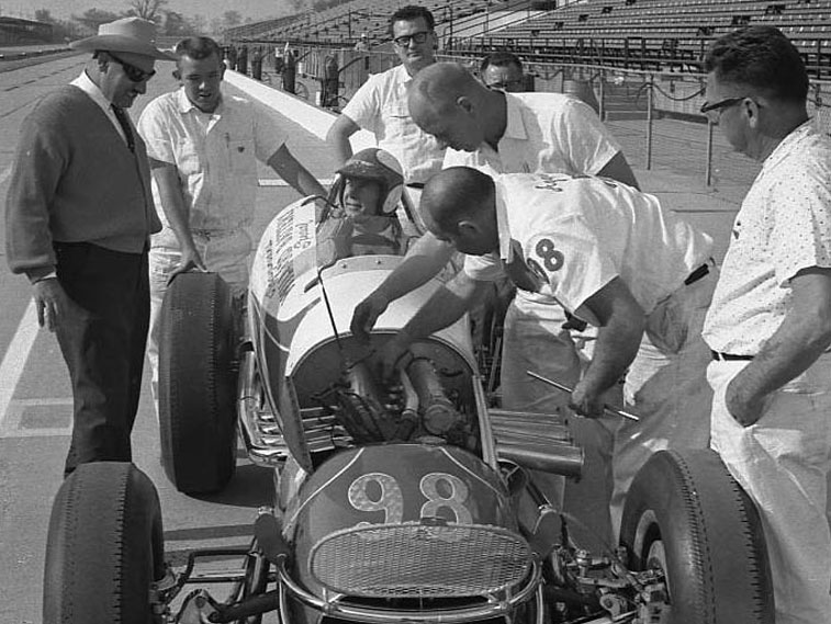 Parnelli and Agajanian, 1963. (Johnson)