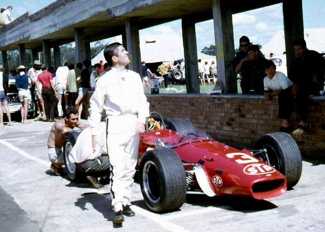 Basil van Rooyen's STP Brabham BT24